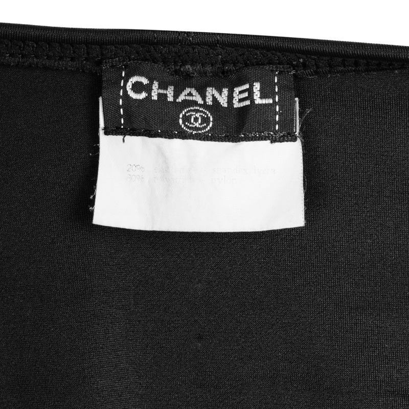 Chanel Spring 1995 Bustier Logo One-Piece