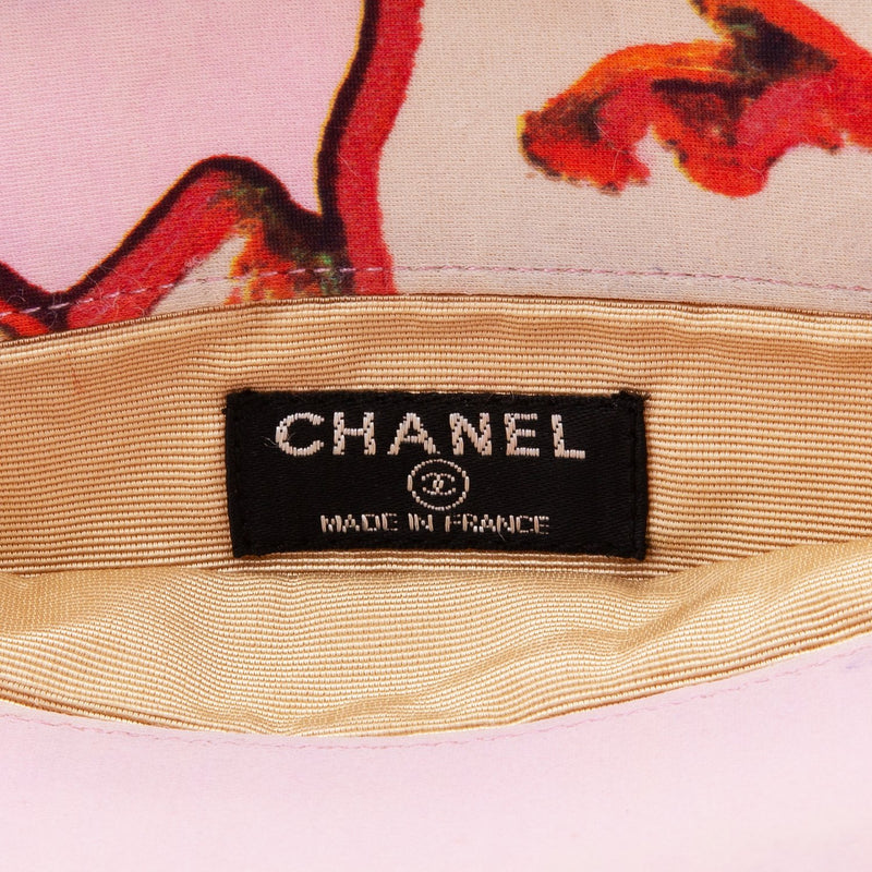 Chanel Spring 2000 Pink Coco Quilted Logo Bag