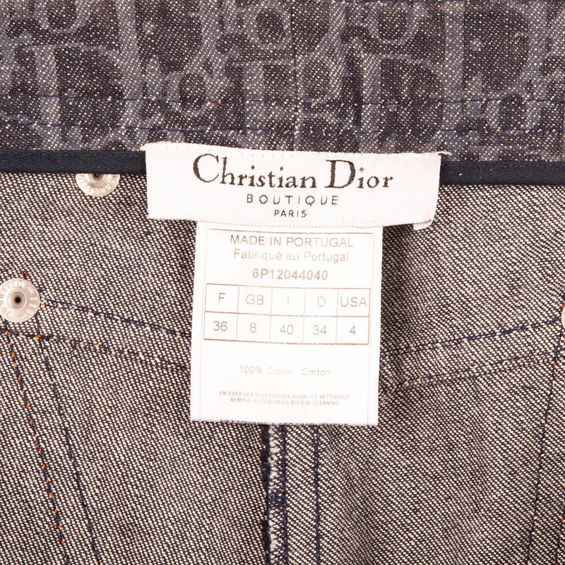 Christian Dior Flight Diorissimo Denim Shorts