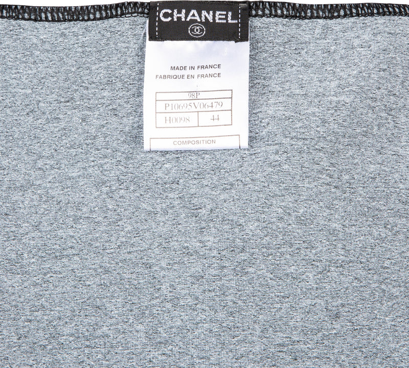 Chanel Spring 1998 Mini Logo Cropped Tank