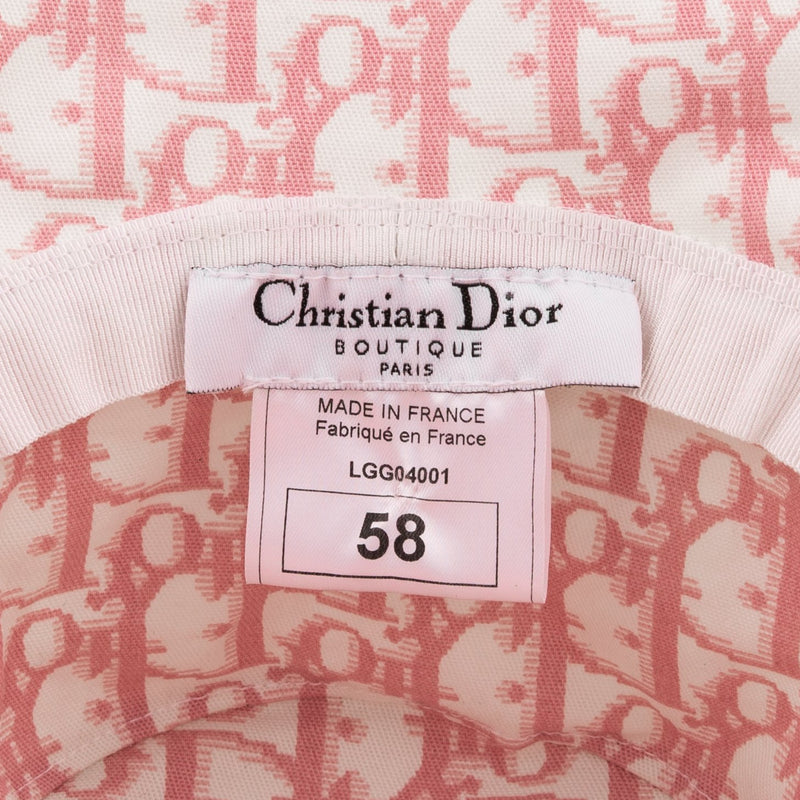 Christian Dior Diorissimo Girly Embellished Bucket Hat