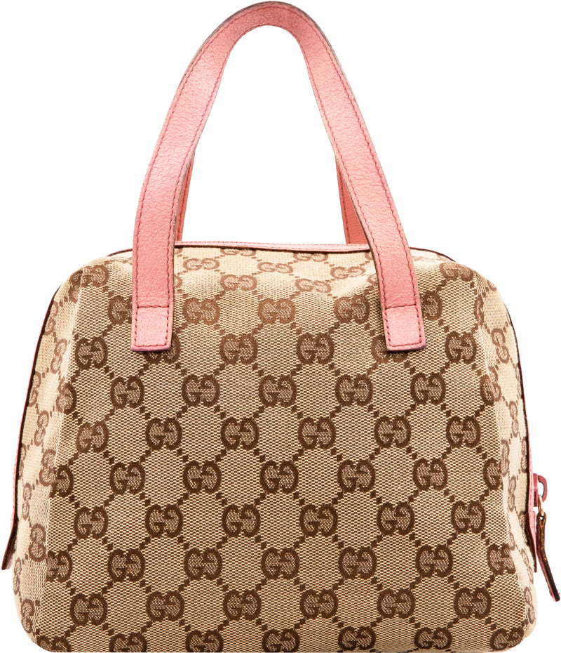 Gucci Monogram Canvas Mini Duffle Bag