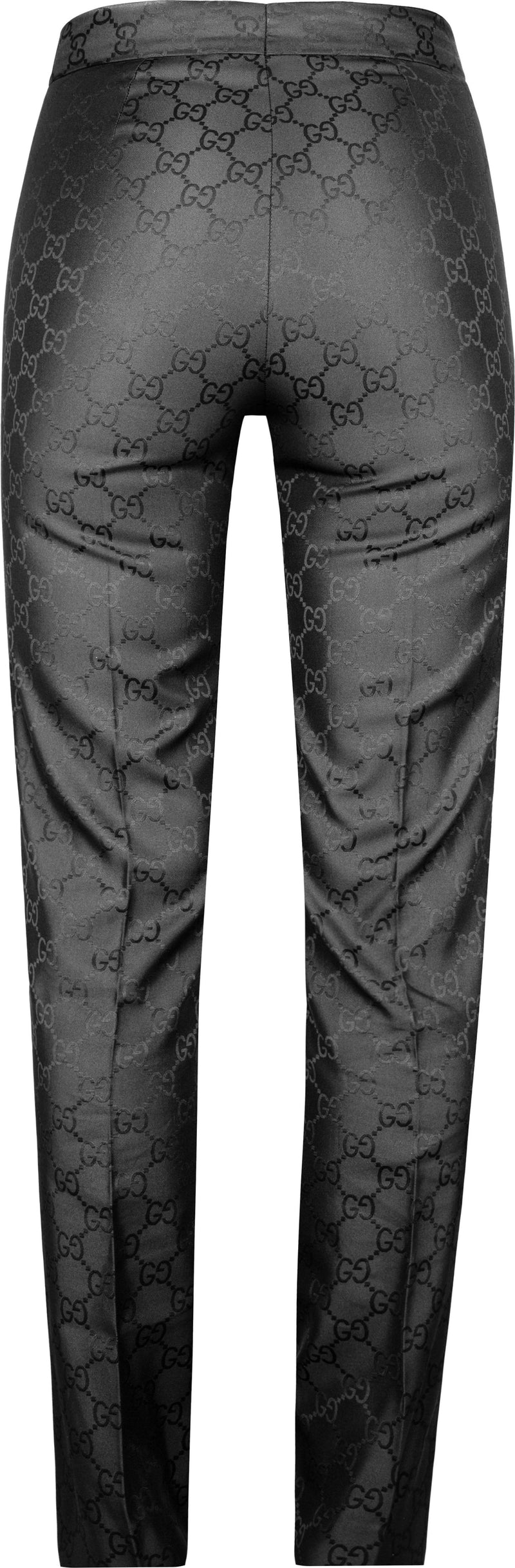 Gucci Monogram Tapered Trouser Pants