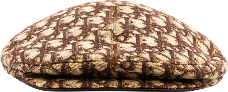 Christian Dior Diorissimo Embellished Newsboy Hat