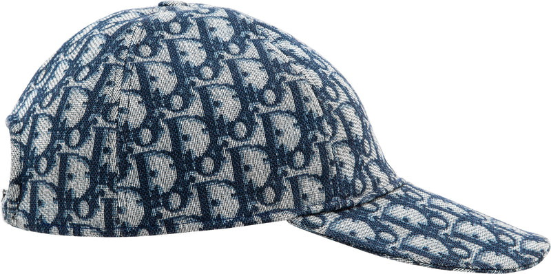 Christian Dior Navy Diorissimo Hat