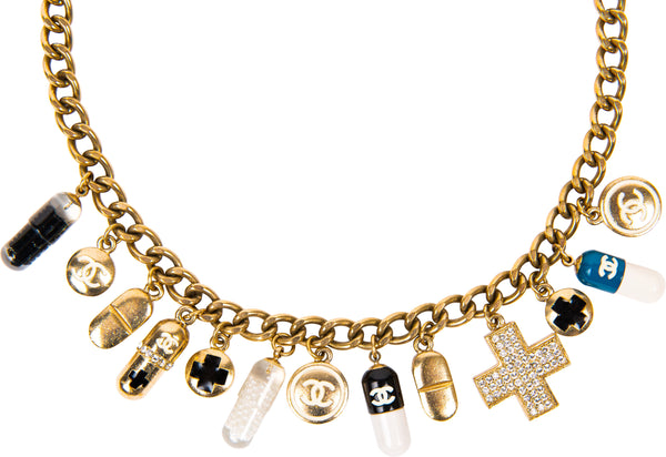 Chanel Dr. Karl Spring 2007 Pill Necklace