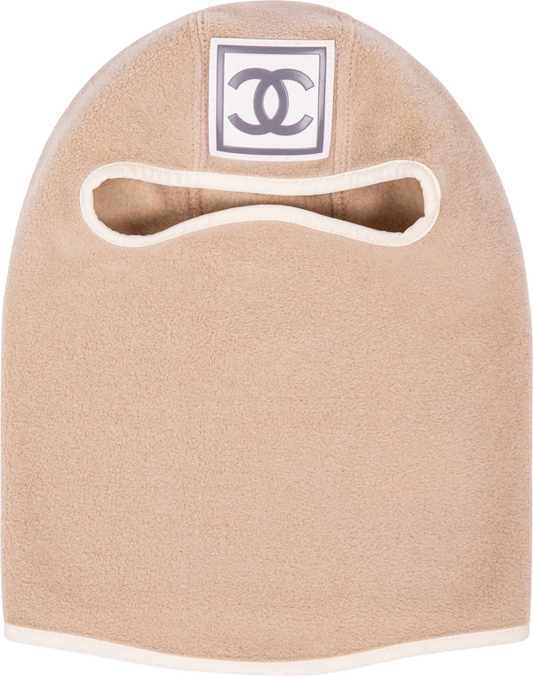Chanel Fall 2001 Logo Ski Mask