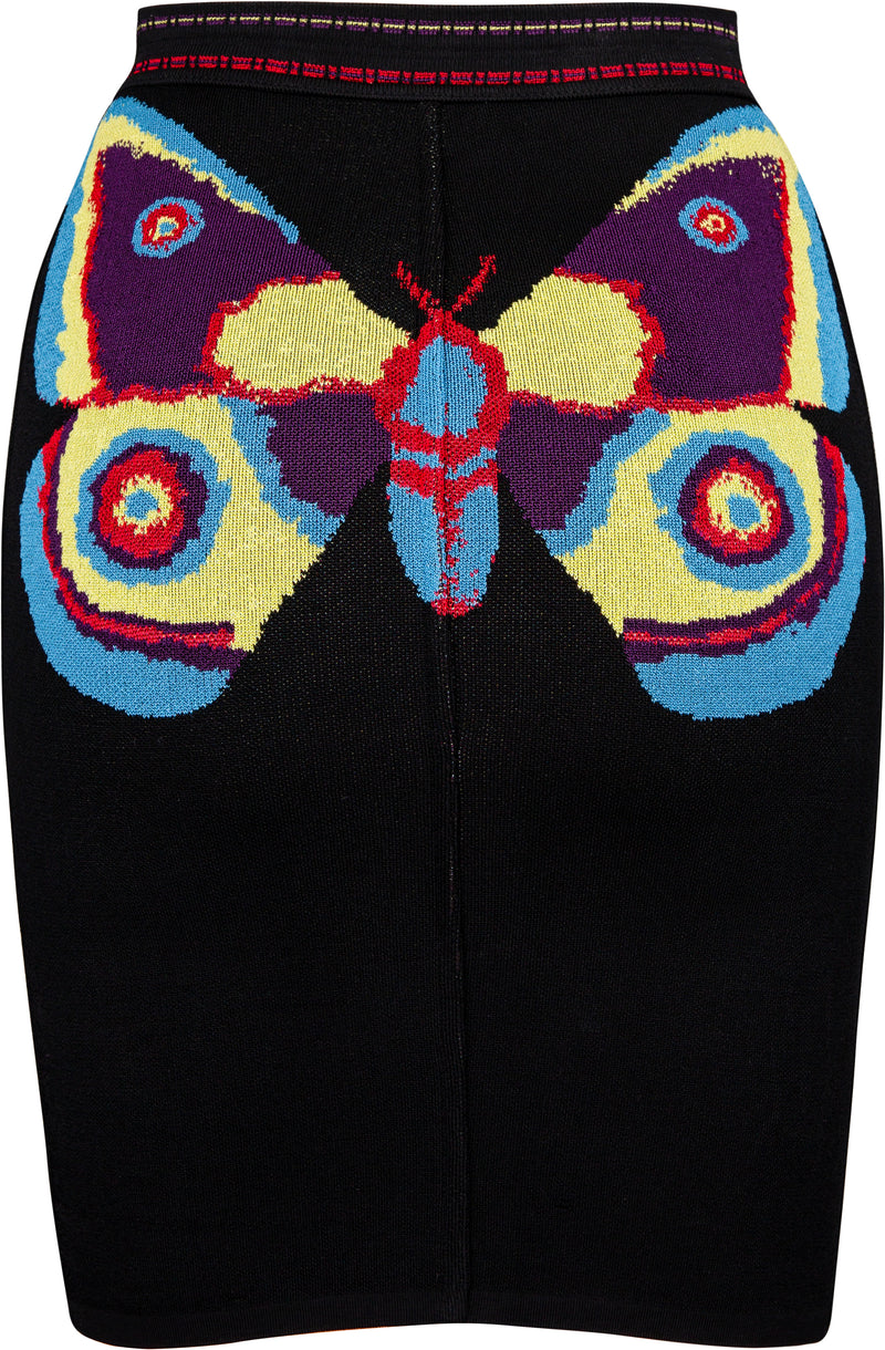 Alaïa Fall 1991 Runway Butterfly Skirt