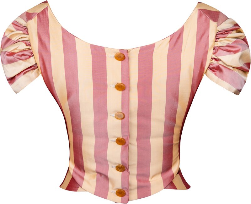 Vivienne Westwood Spring 1998 Tied To The Mast Corset