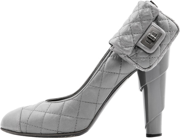 Chanel Pre-Fall 2008 Quilted Mini 2.55 Flap Pumps