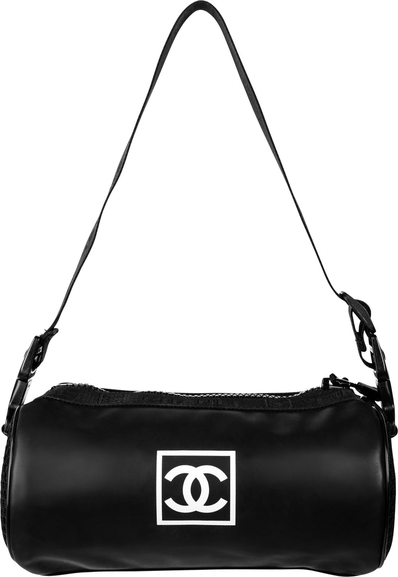 Chanel Sport Logo Roll Bag