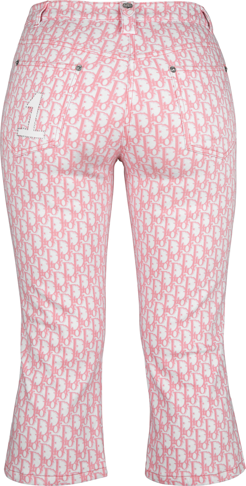 Christian Dior Diorissimo Girly Embellished Cropped Pants
