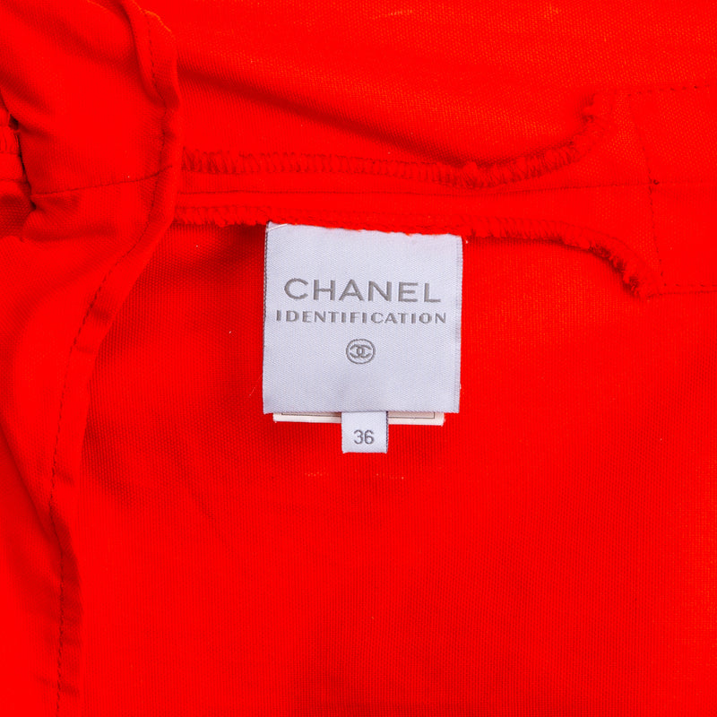 Chanel Spring 2002 Logo Lightweight Jacket