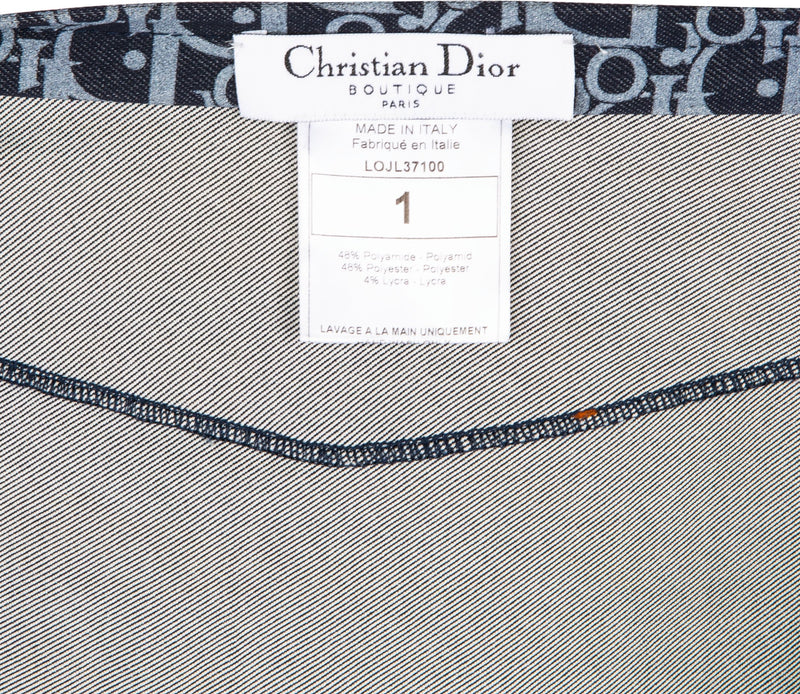 Christian Dior Wrap Flight Skirt