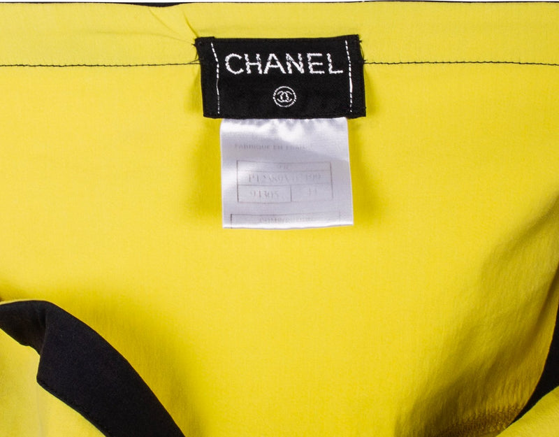 Chanel Bustier Logo Tube Top