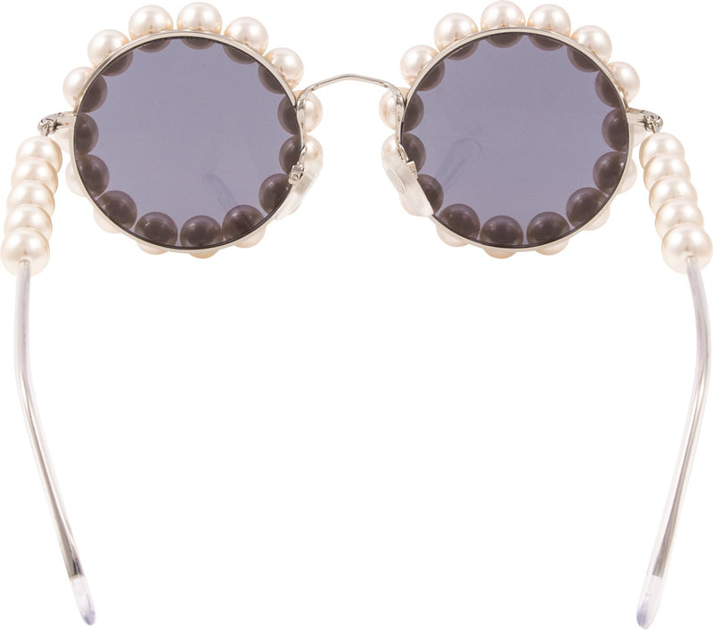 Chanel Spring 1994 Runway Pearl Embellished Sunglasses