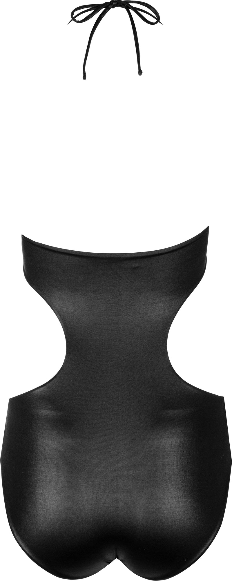 Chanel Cut-Out Bow Ruched One-Piece