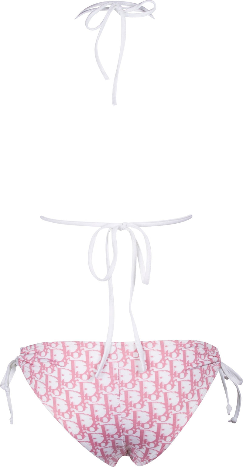 Christian Dior Diorissimo Girly Pink String Bikini