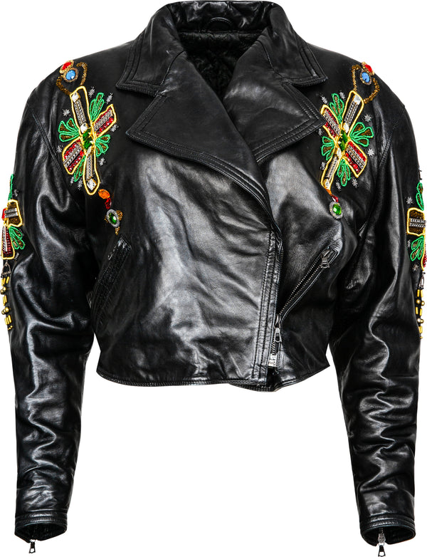 Gianni Versace Fall 1991 Byzantine Met Heavenly Bodies Museum Jacket
