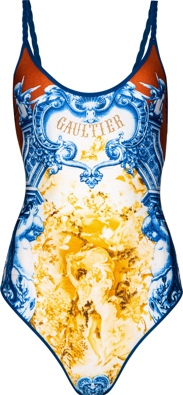 Jean Paul Gaultier Rare Logo One-Piece