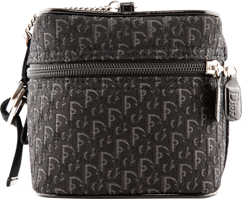 Christian Dior Black Diorissimo Box Bag