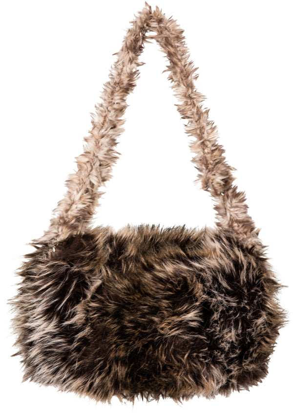 Chanel Fall 2010 Runway Arctic Fantasy Faux Fur Bag
