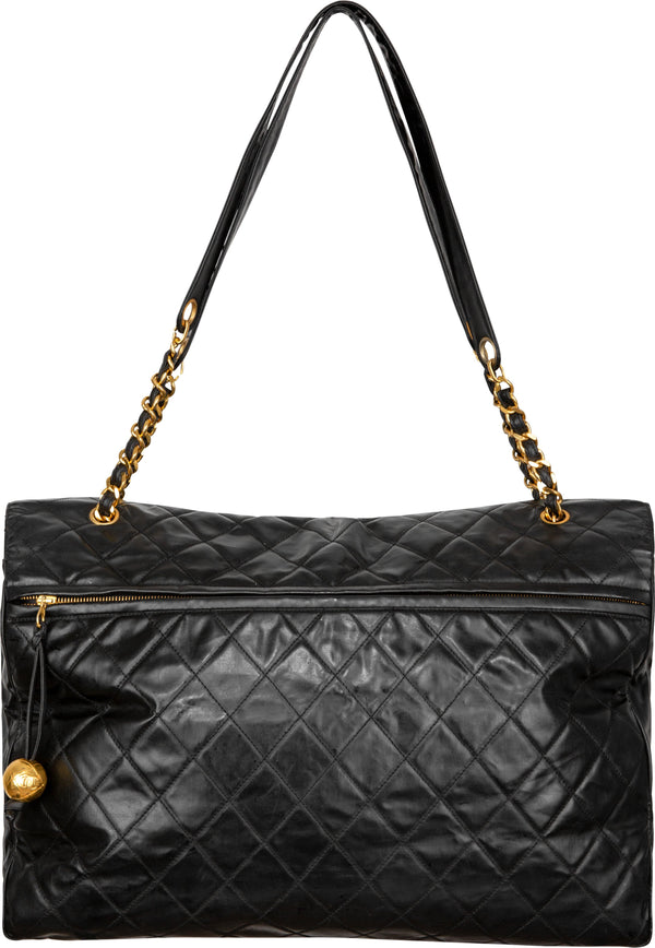 Chanel XXL Quilted Airline Maxi Flap Travel Bag