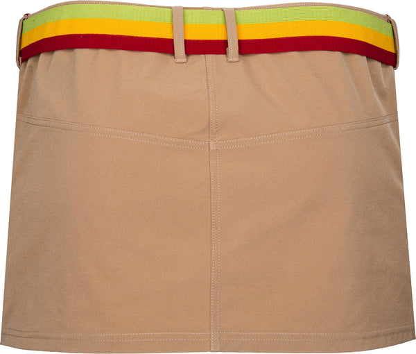 Christian Dior Rasta Belted Mini Skirt