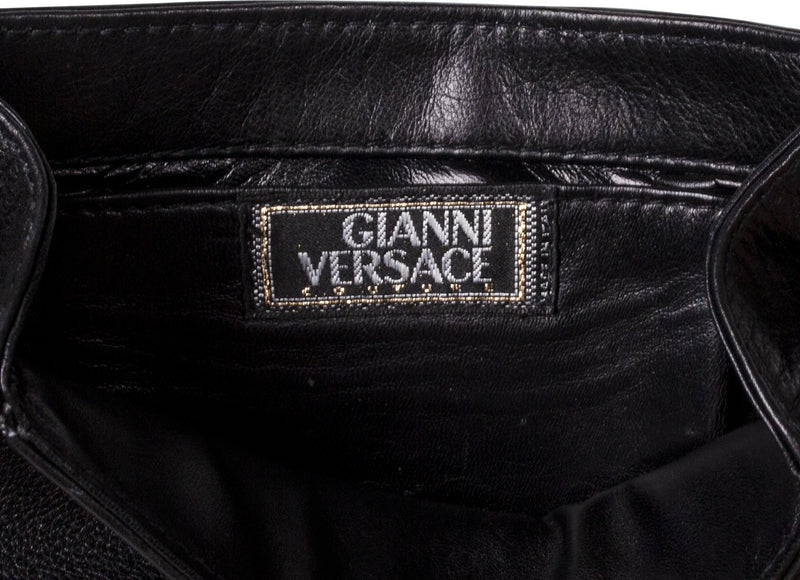 Gianni Versace Spring 1994 Couture Safety Pin Evening Bag