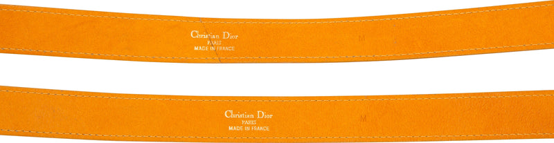 Christian Dior Iconic Giant CD Leather Belt