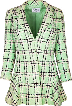 Chanel Spring 1994 Runway Tweed Blazer