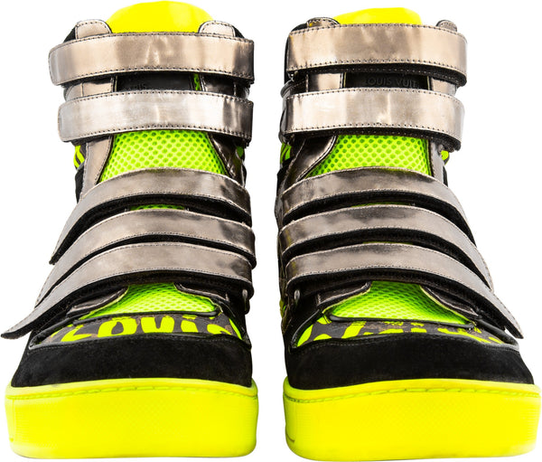 Stephen Sprouse Graffiti High-Top Sneakers