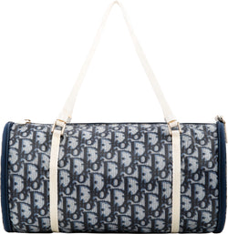 Christian Dior Diorissimo Navy Mini Duffle Bag
