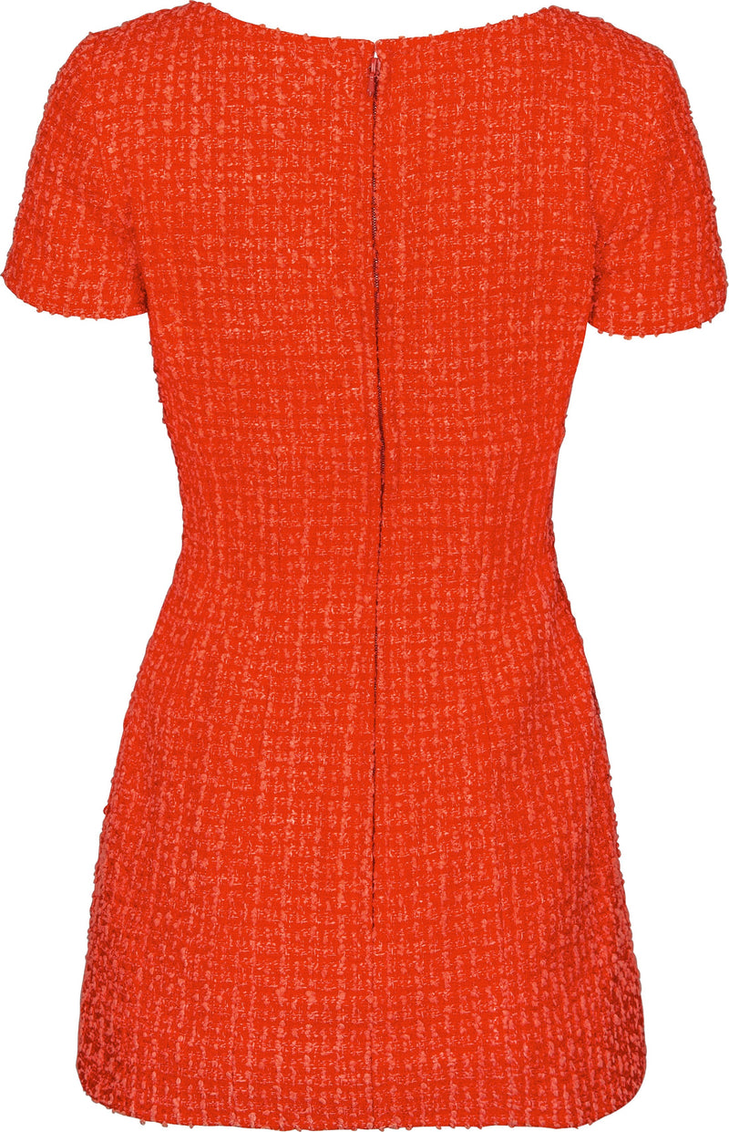 Chanel Spring 1994 Runway Tweed Mini Dress