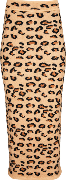 Alaïa Fall 1991 Runway Leopard Knit Pencil Skirt