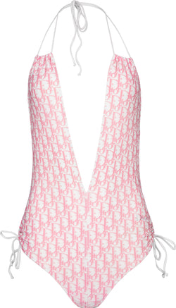 Christian Dior Diorissimo Girly Embellished One-Piece