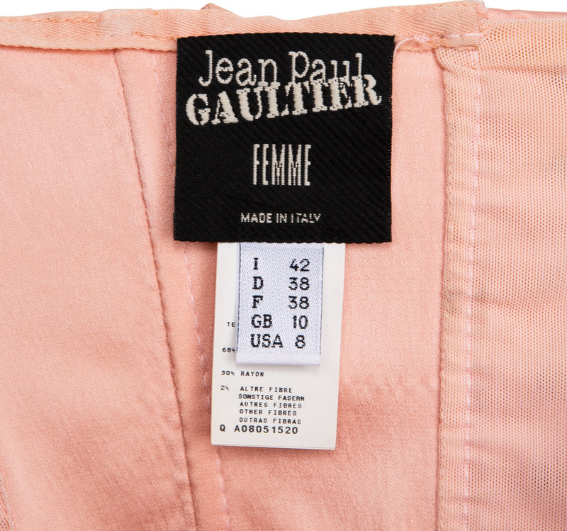 Jean Paul Gaultier Iconic Satin Conical Corset