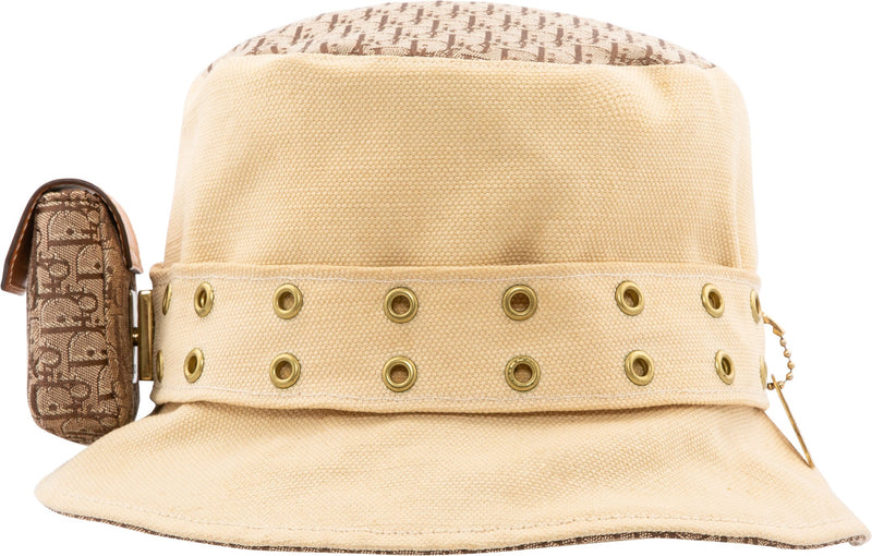 Christian Dior Spring 2002 Street Chic Diorissimo Bucket Hat