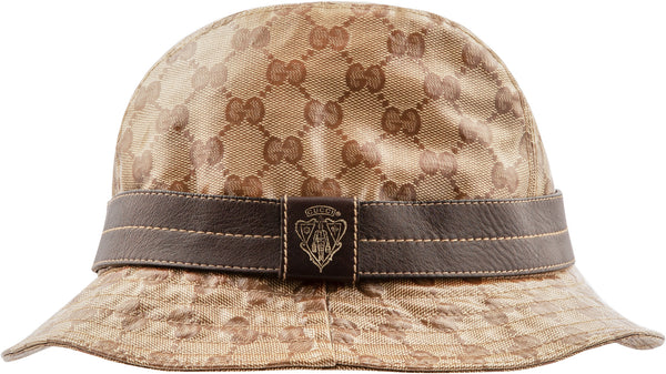 Gucci Monogram Canvas Coated PVC Bucket Hat