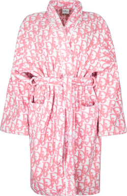 Christian Dior Spring 2004 Girly Diorissimo Terry Cloth Robe