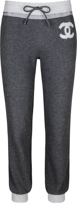 Chanel Spring 2010 Logo Cotton Sweatpants