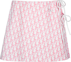 Christian Dior Spring 2004 Diorissimo Girly Cotton Skirt