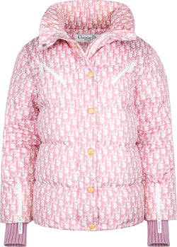 Christian Dior Fall 2003 Pink Diorissimo Puffer Jacket