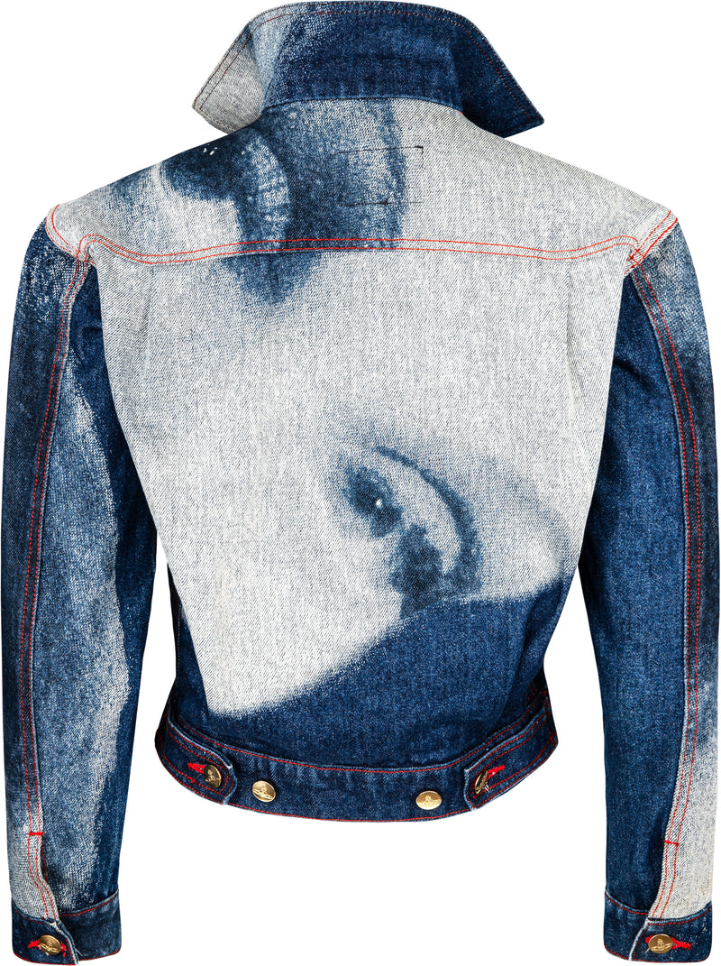 Vivienne Westwood Fall 1992 Always On Camera Marlene Dietrich Denim Jacket