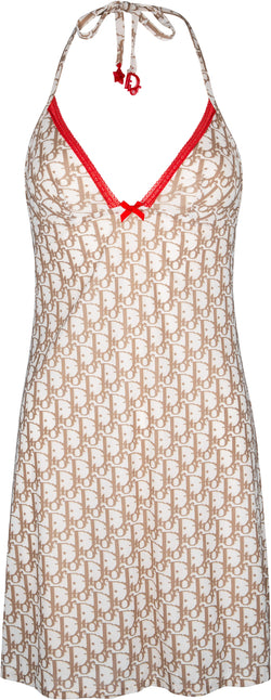 Christian Dior Beige Diorissimo Mini Dress