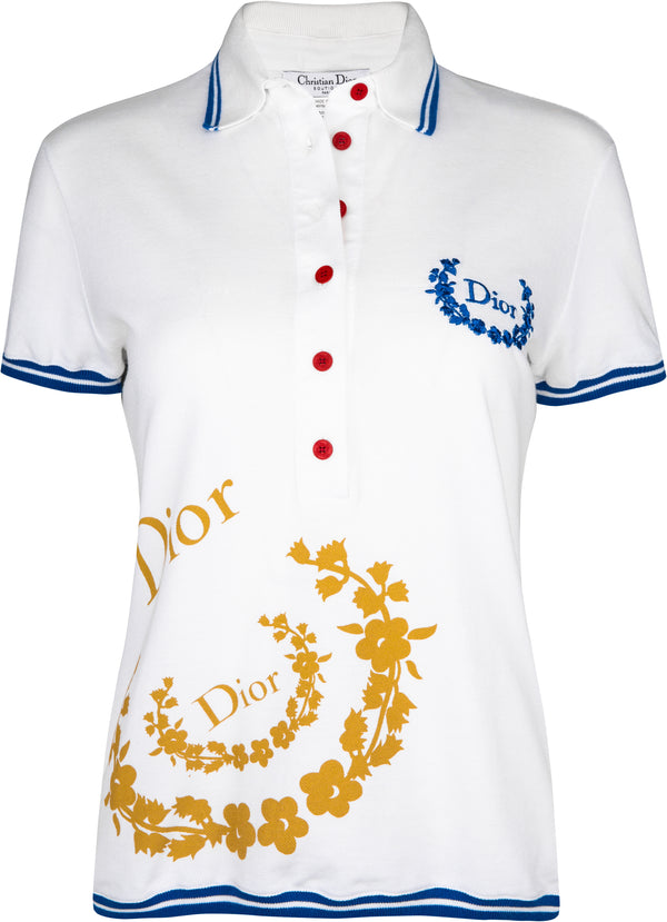Christian Dior Fall 2004 Golf Collection Polo Top