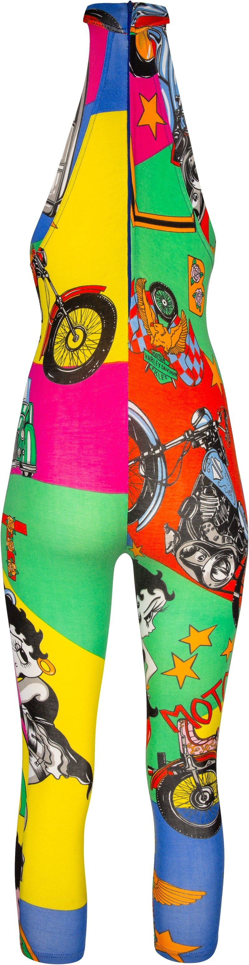 Versace Jeans Couture Spring 1991 Pop Art One-Piece Jumpsuit