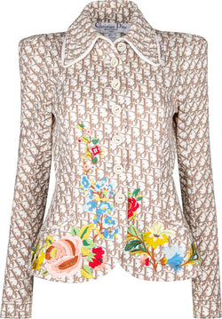 Christian Dior Spring 2005 Runway Embroidered Blazer Jacket