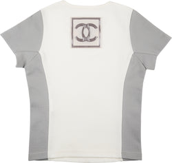 Chanel Spring 2001 Logo Applique Top
