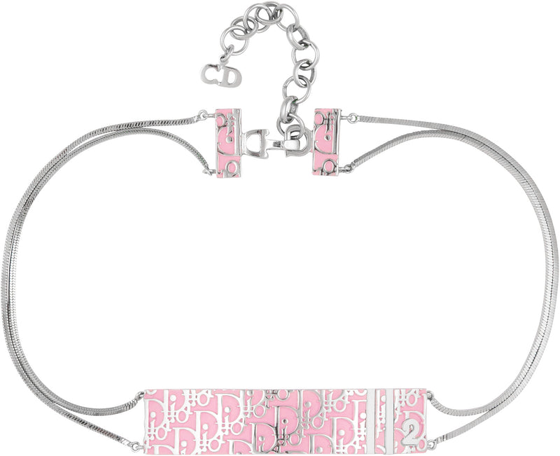 Christian Dior Girly Diorissimo Choker Necklace